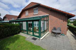 Nr. 52 - Ferienhaus Marie-Ulfers-Weg Garten / Terrasse