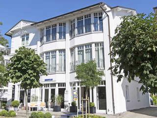 Villa Saxonia -F640   WG 7 im OG mit kl. Wintergarten Villa Saxonia im Ostseebad Binz - Hausansicht