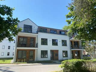 MZ: Parkvilla Candela Whg. 05 Blaue Oase mit Balkon Außenansicht