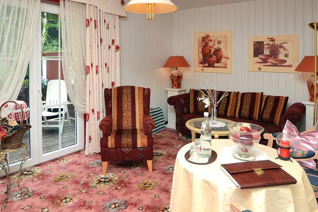 """Landhaus Helmboldt """"Appart. Romantik"""" Wohnzimmer"""