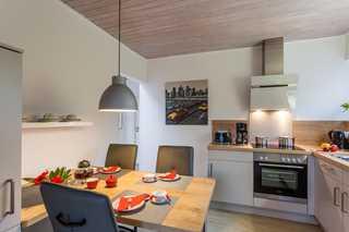 Ferienwohnung Lüttjeloog, 15186 Küche