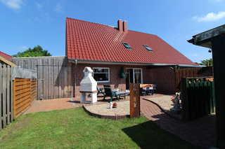 Ferienhaus Moorspatz, 95143 Garten und Terrasse
