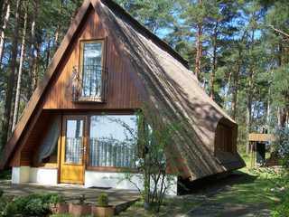 Ferienhaus am Waldesrand Zinnowitz Außenansicht