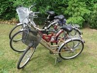 Einige unserer Fahrräder