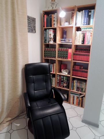 Leseecke mit Massagesessel Wohnung II