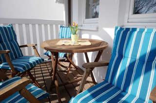Ferienwohnung 21RB4, Villa Laetitia Balkon
