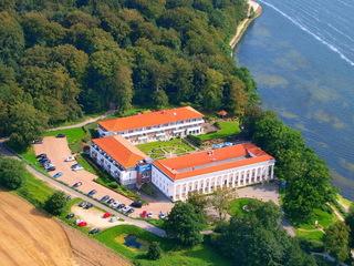 Hotel Badehaus Goor Luftbild Gesamtobjekt