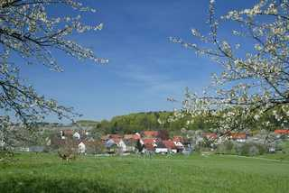 Preuschens Hof Blick aufs Dorf
