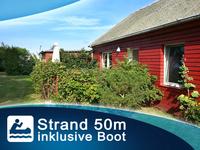 Vermietung Bungalow Nr.5 - Ostsee Strand 50m Ostsee - Ferienhaus - Strand 50m - Boot - Wlan