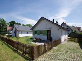 Ferienhaus Amselgrün Außenansicht
