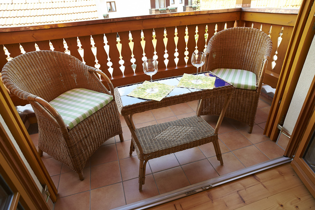 Balkon Landhaus-Suite Wallberg