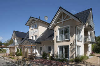 Villa Vier Inselblick Außenansicht