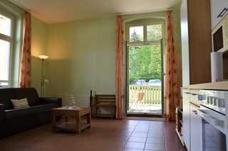 Zinnowitz, Kaiserhof WG 4 - EG mit Terrasse Innenansicht