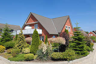 Haus Wiederkehr in Bensersiel Außenansicht Ferienhaus