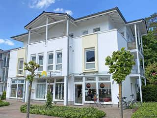 MZ: Strandstraße, FeWo Auszeit Whg 5 mit 2 Bädern und Balkon Hausansicht