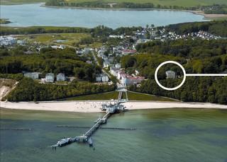 Residenz Seeblick 03 Strandläufer Luftbild