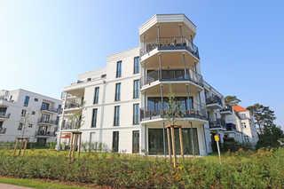 F: Villa Düne Whg. 42 Baaber Strand mit Terrasse & Sauna Villa Düne