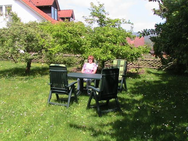 Sitzplatz auf unserer Liegewiese