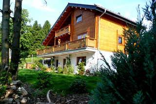 Harz-Haus-Bruns Außenansicht des Ferienhauses