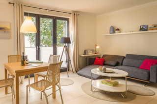 Villa Baltic Sun offener Wohn-, Koch - und Essbereich