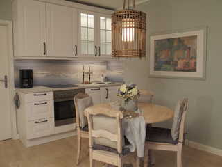 Appartement Residenz Bellevue Usedom 47 DSL-WLAN kostenlos Die neue Küche