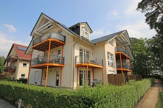 OS: Villa Bella Casa Whg. 09 mit Südostbalkon Außenansicht