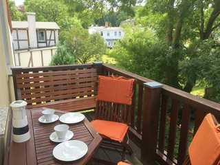 Zinnowitz, Villa Beethoven - OG Balkon