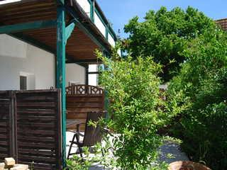 Ferienwohnung Niehusen Terrasse