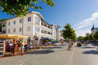 Villa Hildegard - Strandnähe- Balkon-im Zentrum von Binz/1 Außenansicht