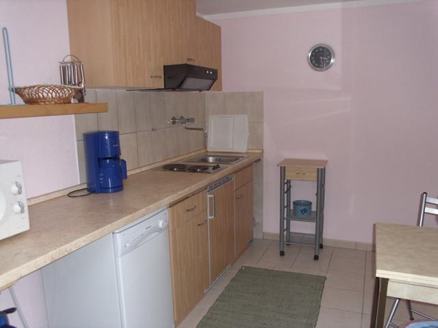 Küche im Eingangsbereich