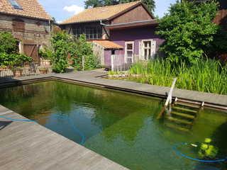 Ferienwohnung in der Remise Natur-Pool