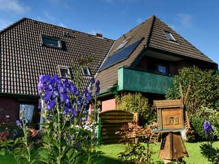 BUE - Appartementhaus Hansen Gartenansicht