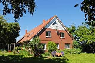 Ferienwohnung 3 auf dem Bio-Hof am Deich im Wangerland Außenansicht