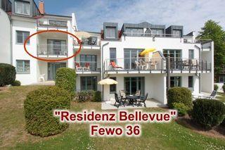 Residenz-Bellevue Komfort-Ferienwohnungen Fewo 36 - Außenansicht