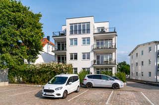 MZ: Villa Wiederkehr Whg 08 Wilhelmine mit Balkon Außenansicht