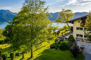 Der Westerhof - Hotel in Tegernsee Blick auf den Tegernsee