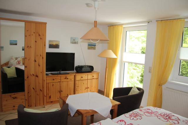 Wohn-/Schlafzimmer Ferienwohnung 2 Personen