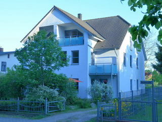 Blaues Haus - Ferienwohnungen Egon Schulz Ferienhausblick Seeseite