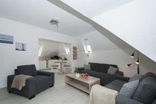 Ferienwohnung Familie Orlowski Wohnzimmer / Küche