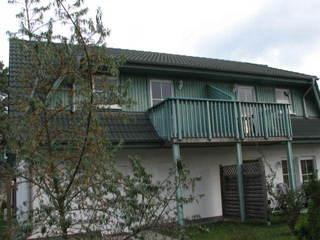 Zinnowitz Skanepark Ferienwohnung 14 im 1.OG Kiefernblick Balkon