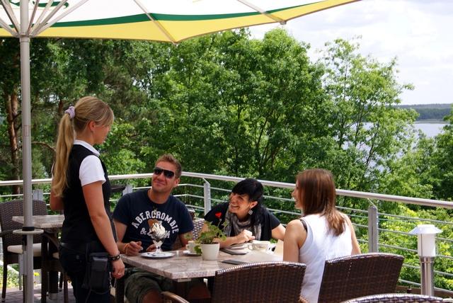 Restaurant Havelberge - Sonnenterasse