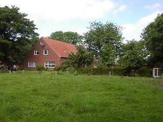 Ferienhof Peters in Holtgast Außenansicht