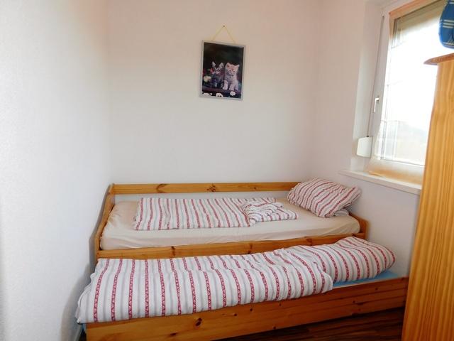das zweite Schlafzimmer Hochparterre rechts