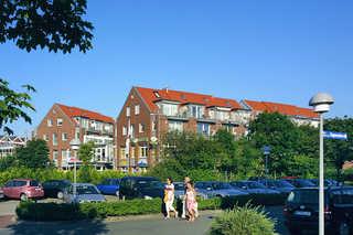 Ferienwohnungen Nordsee Terrassen im Nordseegartenpark Außenansicht
