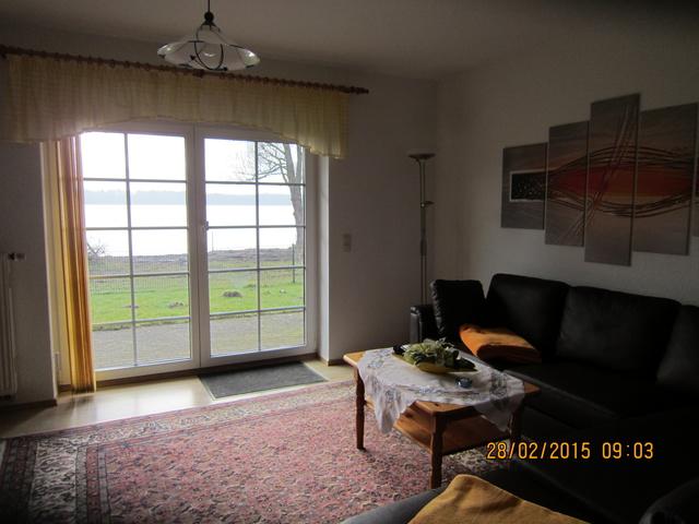 Seeblick von Wohnzimmer