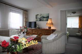 Ferienwohnung Haus Harz Sonne I - SORGENFREIES REISEN* Wohnbereich