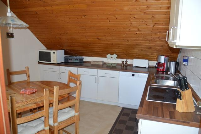 Wohnküche mit Geschirrspüler