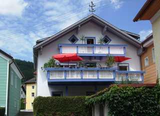 Ferienwohnung Örtl 7 Unser Haus von der Donauseite