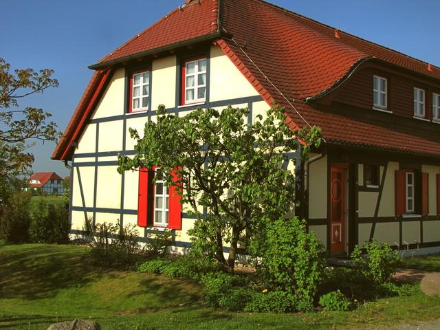 Häuser im Feriendorf