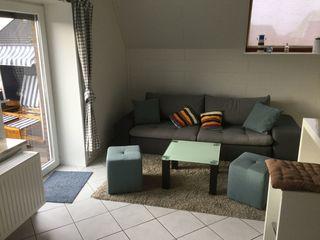 Ferienwohnung Nordseemöwe Wohnzimmer